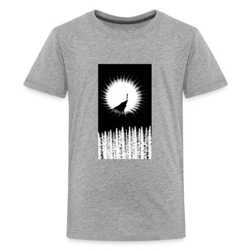 Alone - Kids' Premium T-Shirt