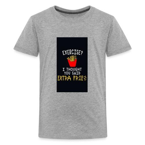 Exercise???? - Kids' Premium T-Shirt