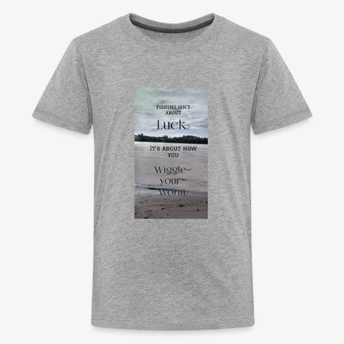 fishing - Kids' Premium T-Shirt