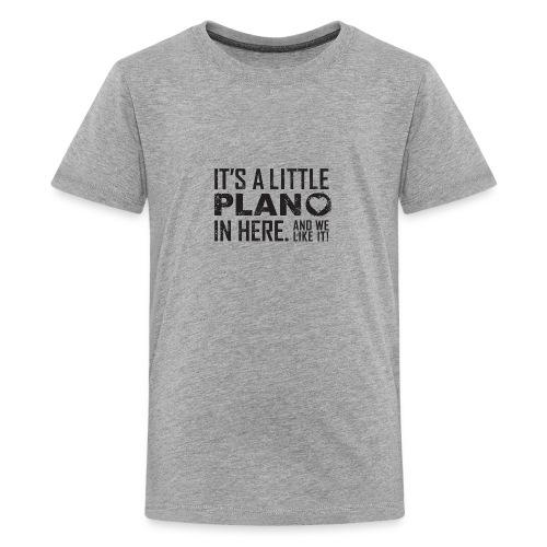 its a little plano tee - Kids' Premium T-Shirt