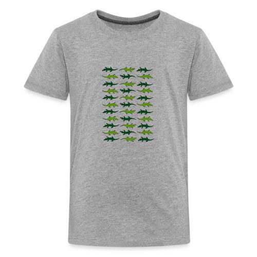 Crocs and gators - Kids' Premium T-Shirt