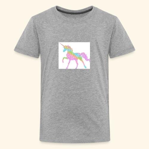 Cool Merch here by me it's unicorns - Kids' Premium T-Shirt