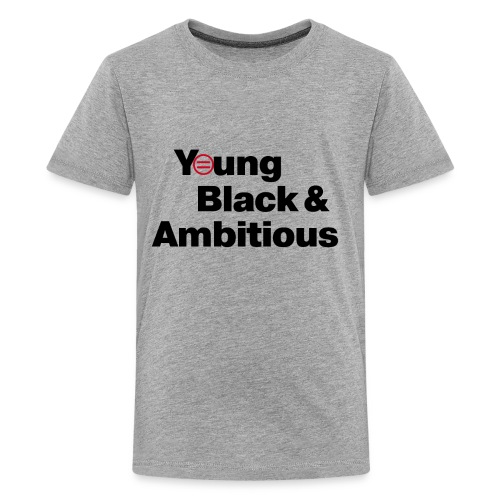 YBA white and gray shirt - Kids' Premium T-Shirt