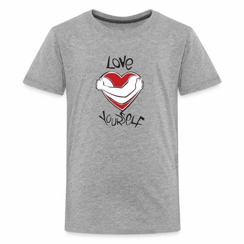 LOVE YOURSELF - Kids' Premium T-Shirt