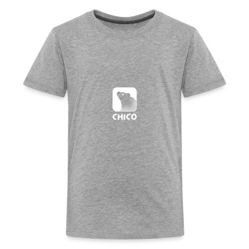 Chico's Logo with Name - Kids' Premium T-Shirt