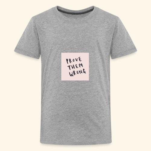 show em what you about - Kids' Premium T-Shirt