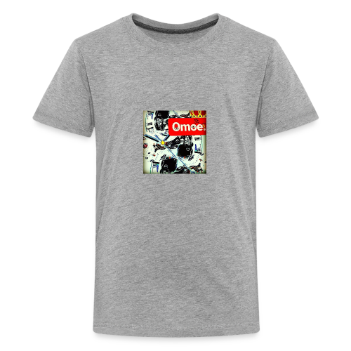 Omoe gets old - Kids' Premium T-Shirt