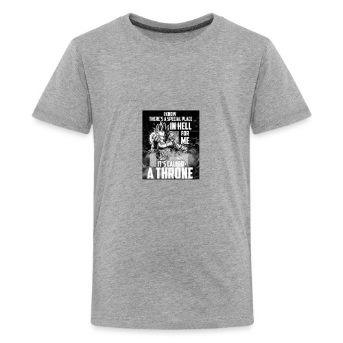 VEGETA KING OF HELL - Kids' Premium T-Shirt