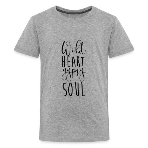 Cosmos 'Wild Heart Gypsy Sould' - Kids' Premium T-Shirt