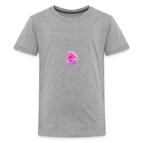 Shiny pink flower - Kids' Premium T-Shirt