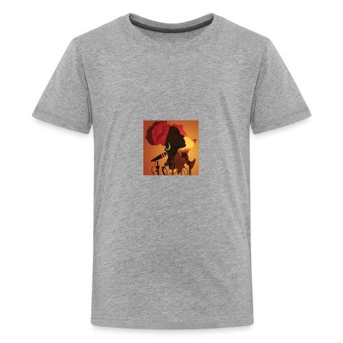 africa music - Kids' Premium T-Shirt