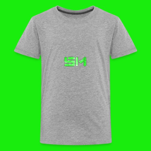 SloMotion logo - Kids' Premium T-Shirt
