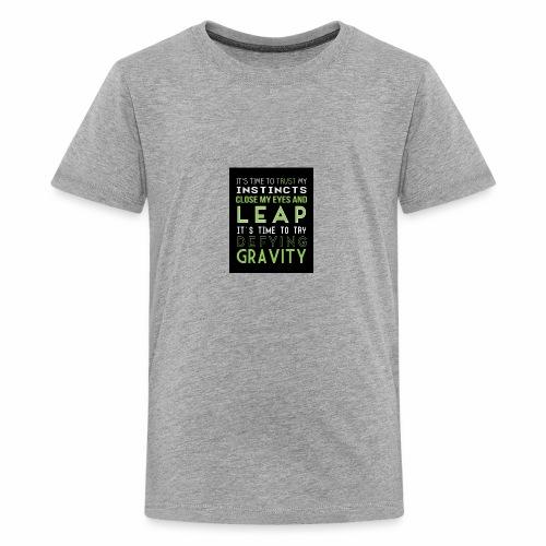 Defying Gravity - Kids' Premium T-Shirt