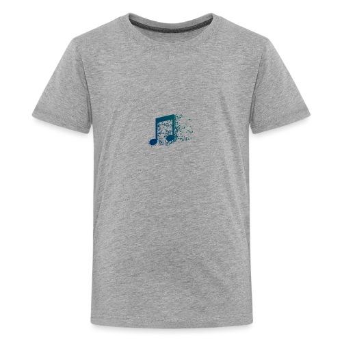 Music note spill - Kids' Premium T-Shirt