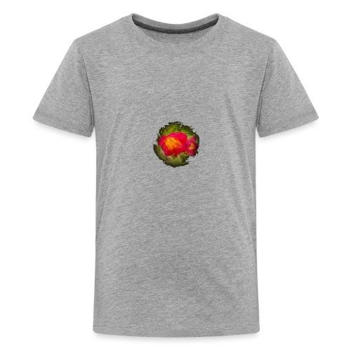 Pink flower bell - Kids' Premium T-Shirt