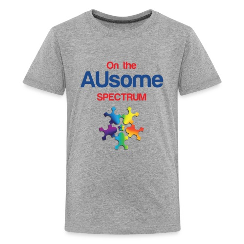 On the AUsome Spectrum - Kids' Premium T-Shirt