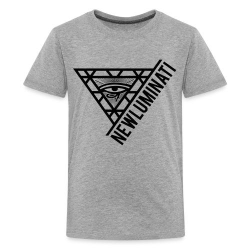 newluminati graphic - Kids' Premium T-Shirt