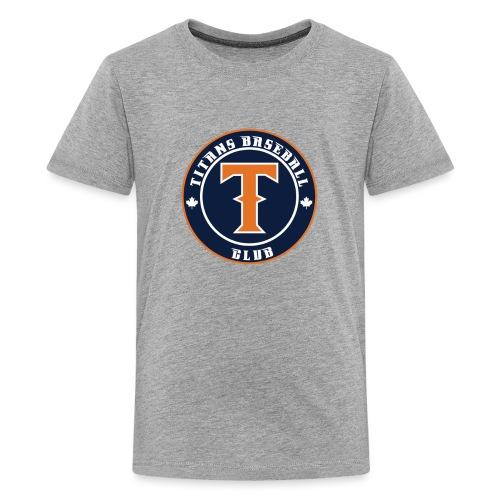 Titans Baseball Club Round Logo - Kids' Premium T-Shirt