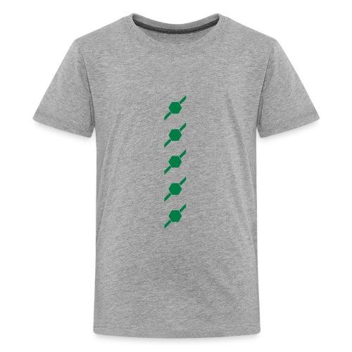 fivehex vector - Kids' Premium T-Shirt
