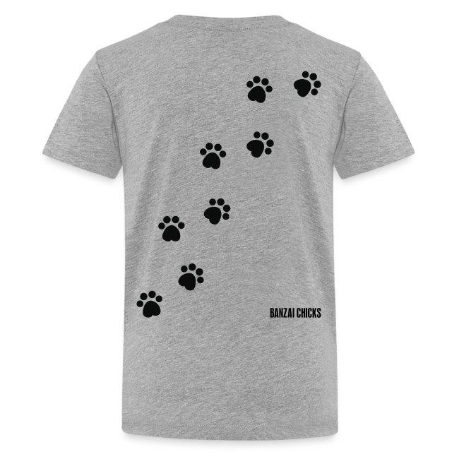 Cute Kitten Ladies T-shirt