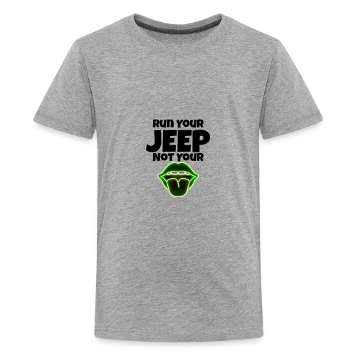 Run Lime - Kids' Premium T-Shirt