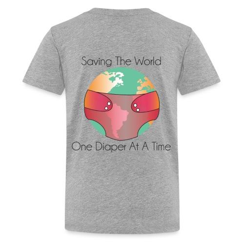 OneDiaperAtATime Green - Kids' Premium T-Shirt
