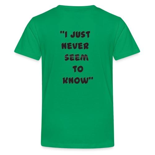 know png - Kids' Premium T-Shirt