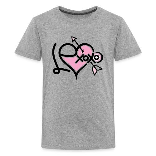 LEXoxo (Front & Left Sleeve T-Shirt) Kids - Kids' Premium T-Shirt