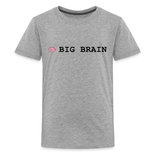 Big Brain - Kids' Premium T-Shirt