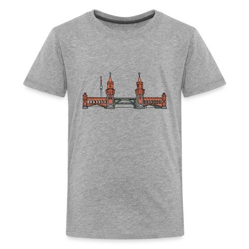 Oberbaum Bridge Berlin - Kids' Premium T-Shirt