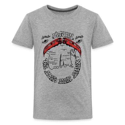 (artwork_195348) THE BOOGIE DOWN BRONX - Kids' Premium T-Shirt