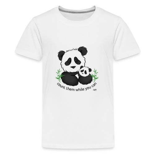 SnuggleCoats_panda - Kids' Premium T-Shirt