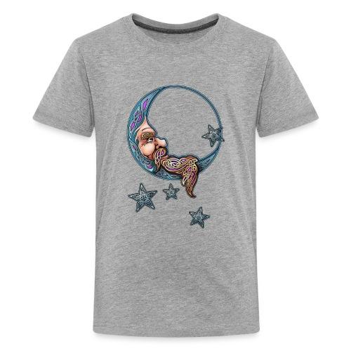 knotwork moon - Kids' Premium T-Shirt
