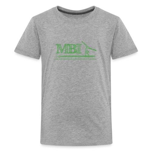 Green MBI sketch logo - Kids' Premium T-Shirt