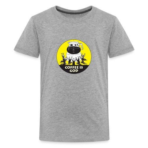 Worship Coffee Time - Kids' Premium T-Shirt