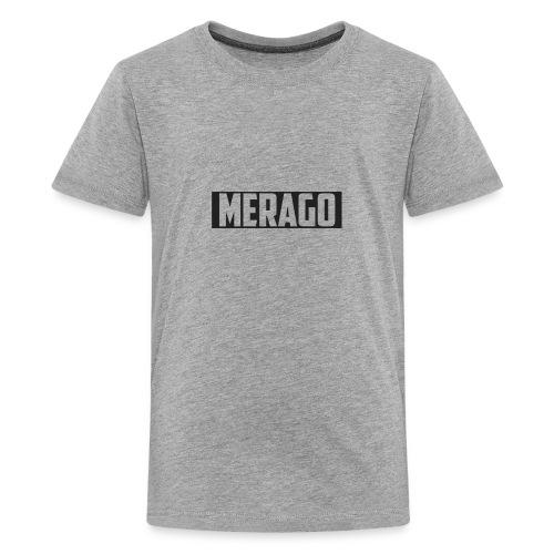 Transparent_Merago_Text - Kids' Premium T-Shirt