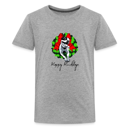 Merry Pitmas - Kids' Premium T-Shirt