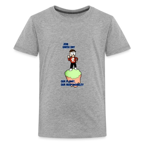 Earth day R3KT #ProtectThePlanet - Kids' Premium T-Shirt