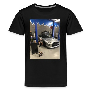 Nissan GT-R - Kids' Premium T-Shirt