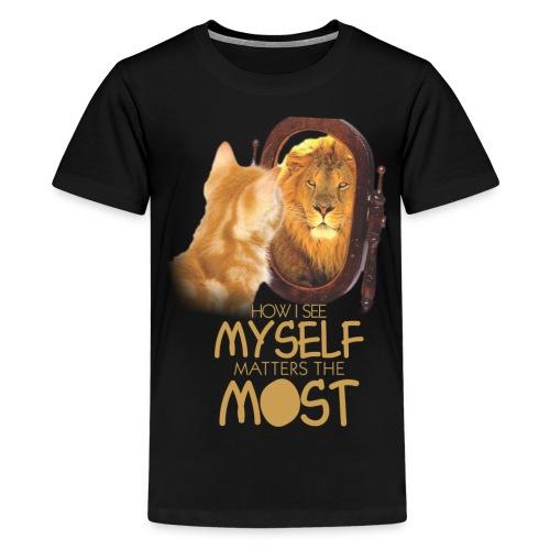 SELF WORTH AND SELF RESPECT - Kids' Premium T-Shirt