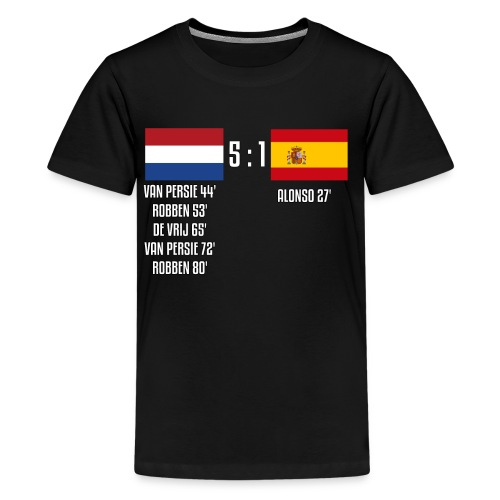 Netherlands 5-1 Spain - Kids' Premium T-Shirt