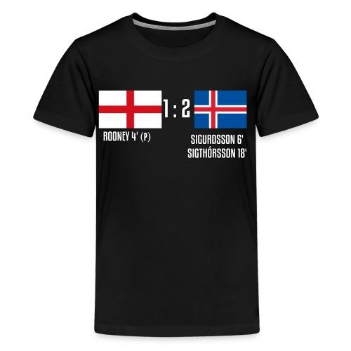 England 1-2 Iceland - Kids' Premium T-Shirt