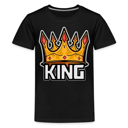 The Great Hero King - Kids' Premium T-Shirt
