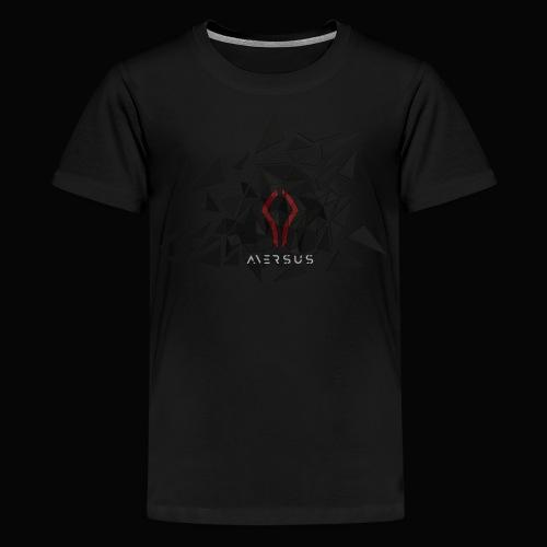 Aversus - Logo + Name - Kids' Premium T-Shirt