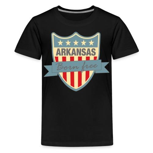 Arkansasshield Born Free Ramirez - Kids' Premium T-Shirt