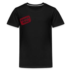 Combodeal Transparent Logo - Kids' Premium T-Shirt
