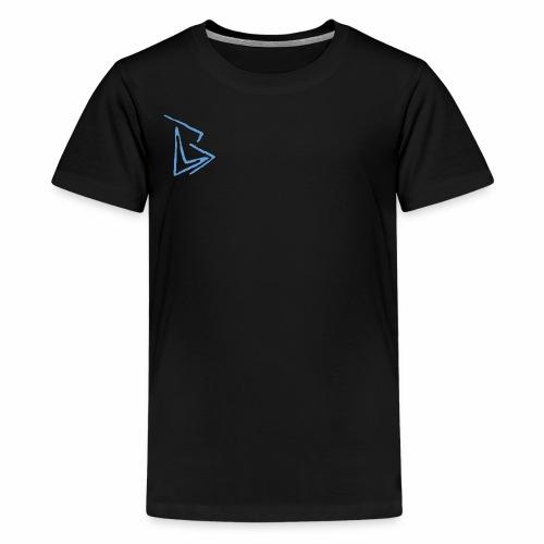 Brenden London BLUE Logo - Kids' Premium T-Shirt