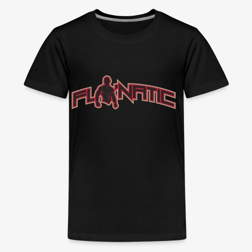 Flo Natic logo 4 - Kids' Premium T-Shirt