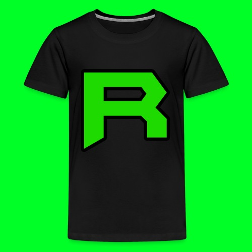 Retro ItsRusher Logo - Kids' Premium T-Shirt
