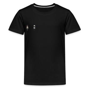 Jesus, Adan - Kids' Premium T-Shirt